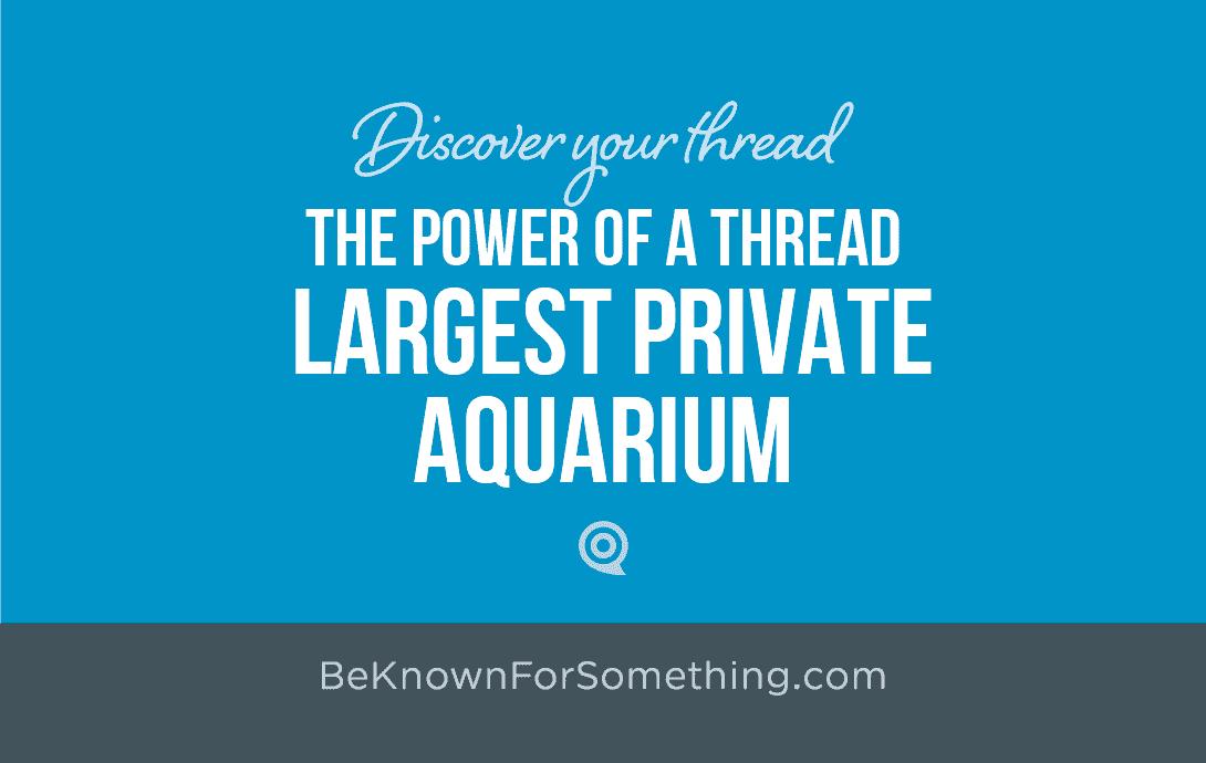 Church Largest Aquarium Thread