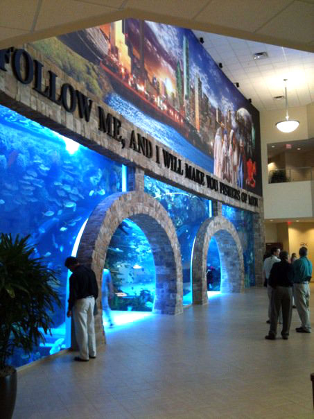 Largest Private Aquarium In A Church Be Known For