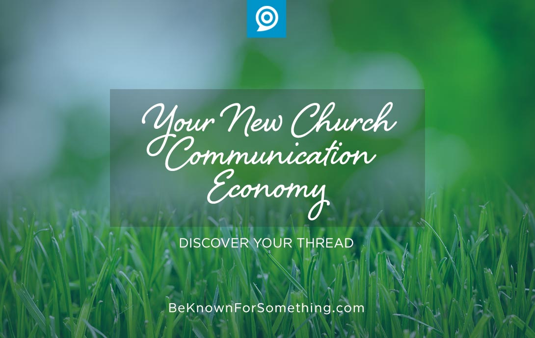 Church communication economy