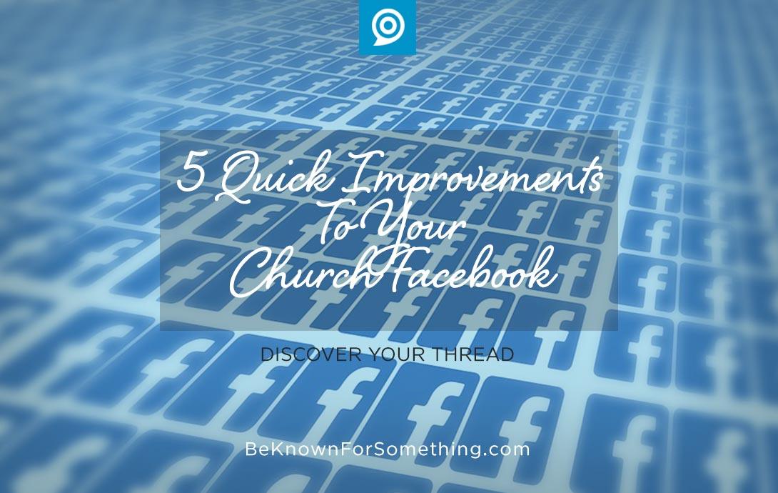 Facebook improvements