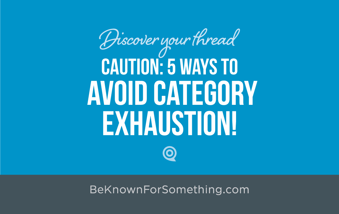 Avoid Category Exhaustion