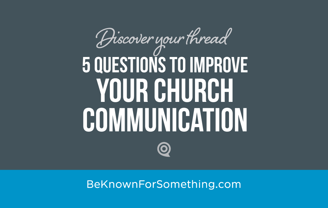 Improve Church Communication