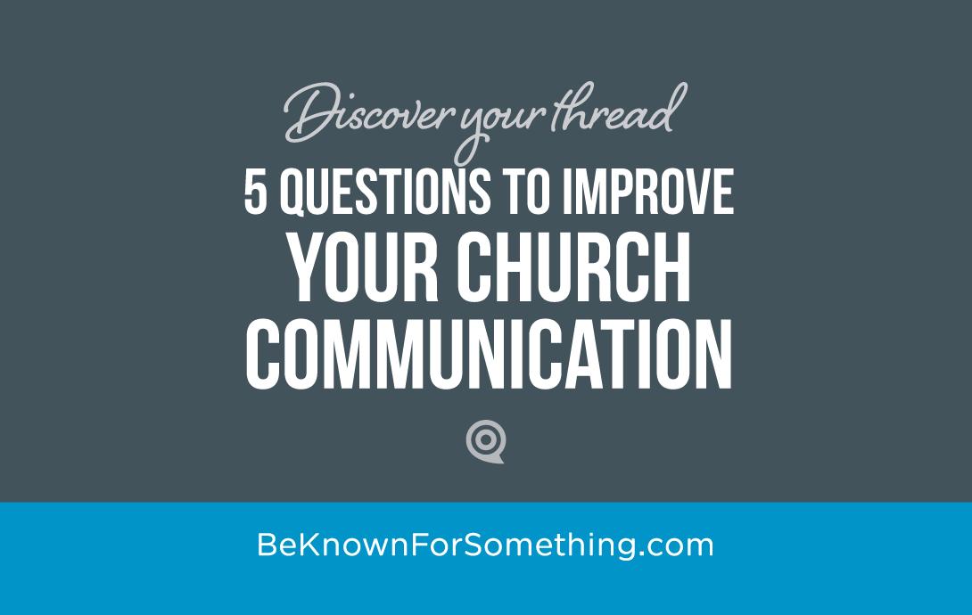 Improve Church Communication