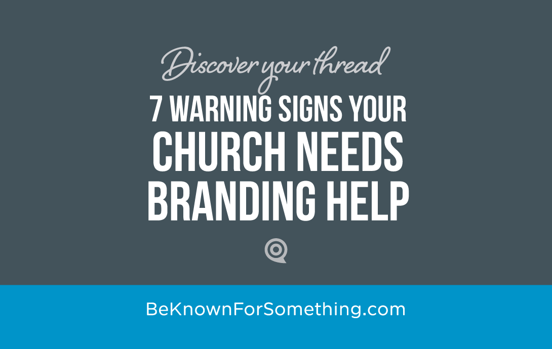 Signs your Branding Needs Help