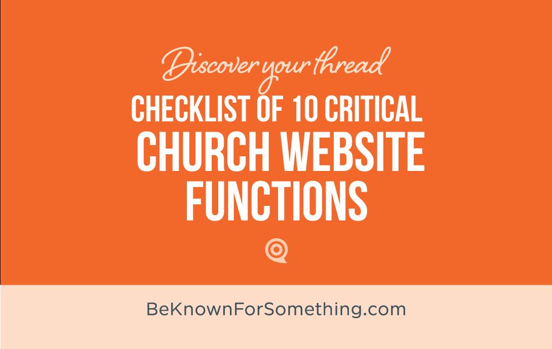 Website Functions