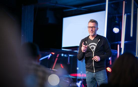Mark MacDonald Teaching Church Branding Retreat