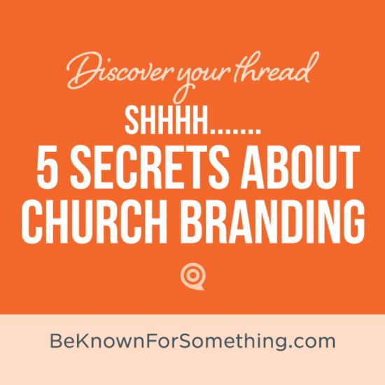 Church Branding Secrets