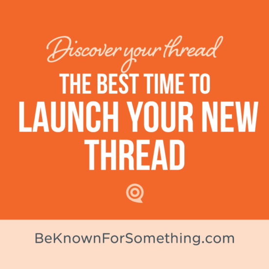 Best Time to Launch Thread