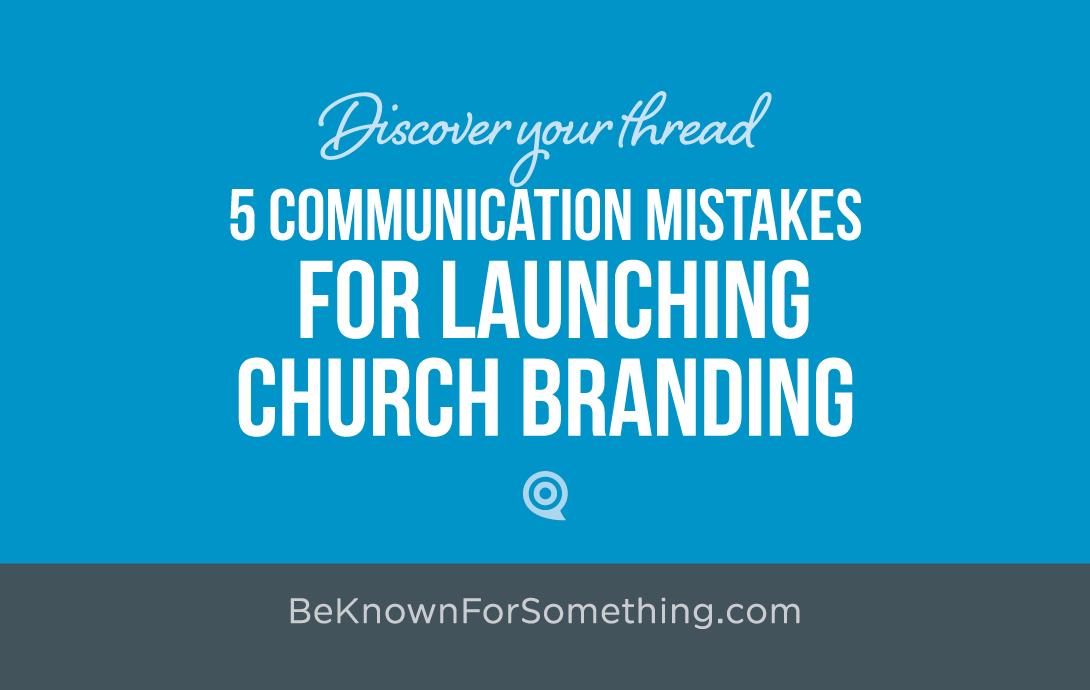 Church Brand Launch