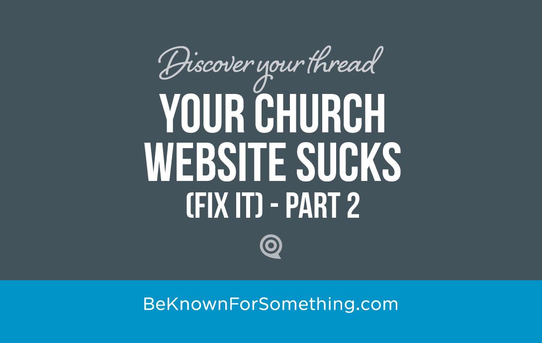 Website Sucks..... fit it